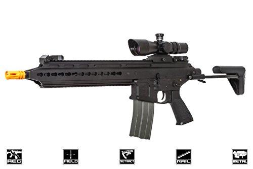 Army Aeg Classic (Classic Army Scarab ABR Carbine AEG Airsoft Gun (Black))