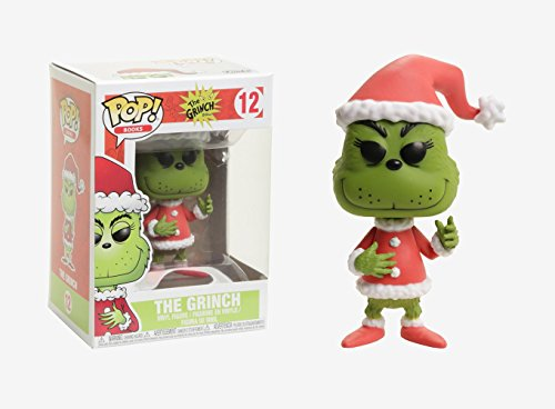 Funko Pop Books Santa Grinch Collectible Vinyl Figure (styles may vary) -