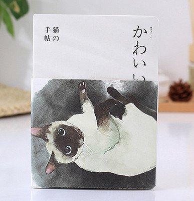 Agenda de cuentos de gato estilo vintage, con diseño de ...