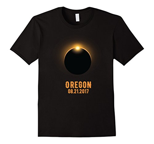 Mens OREGON Total Solar Eclipse August 21 2017 USA T Shirt XL - Solar Eclipse Sunglasses Shield For