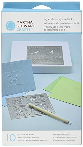 Martha Stewart Crafts Dry Embossing Kit Martha Stewart Embossing