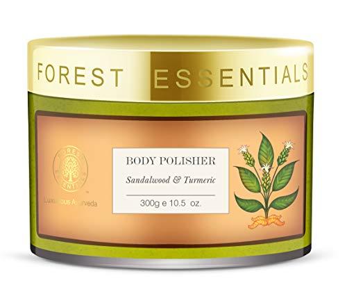 Forest Essentials Body Polisher Sandalwood & Turmeric - 300g