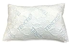 Amazon Com Panda Life Shredded Latex Tencel Pillow Queen
