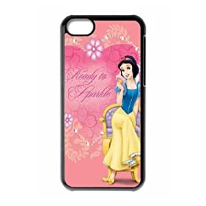 Princess Snow White Frozen Logo Semi Clear Transparent Case for Iphone 5c AML207065