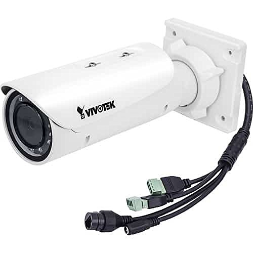 Vivotek IB9371-Eht 3MP Outdoor Bullet Network Camera with Heater and 3-9mm Varifocal Lens