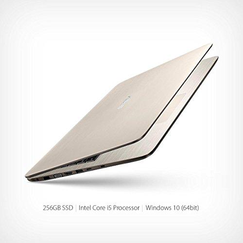 Asus F556 15.6-Inch Full HD 1080P Laptop Computer (Intel Core i5-6200U, 8GB, 256GB SSD, Windows 10 Home 64 bit),Icicle Gold