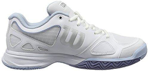 Wh Tennis White Cassé Blanc White de Femme Stonewash Stonewash Chaussures Evo W Wilson Rush tFTqUU