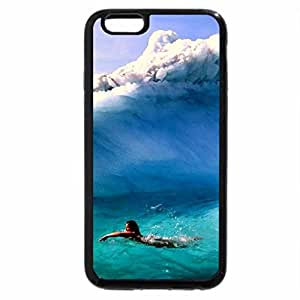 iPhone 6S Plus Case, iPhone 6 Plus Case, Swimming beside an Iceberg
