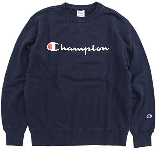 [チャンピオン] スウェット シャツ 裏毛 スクリプトロゴ 定番 ベーシック C3-Q002 メンズ