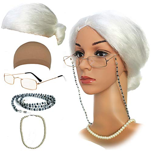 Old Lady Costume Characters Set - Old Lady/Mrs. Santa for sale  Delivered anywhere in USA