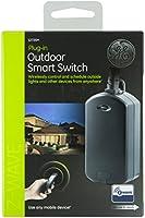 ge z wave wireless smart lighting control outdoor module on off