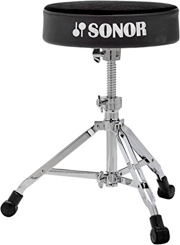 Sonor 4000 Series Drum Throne Black Velour Sonor Hardware