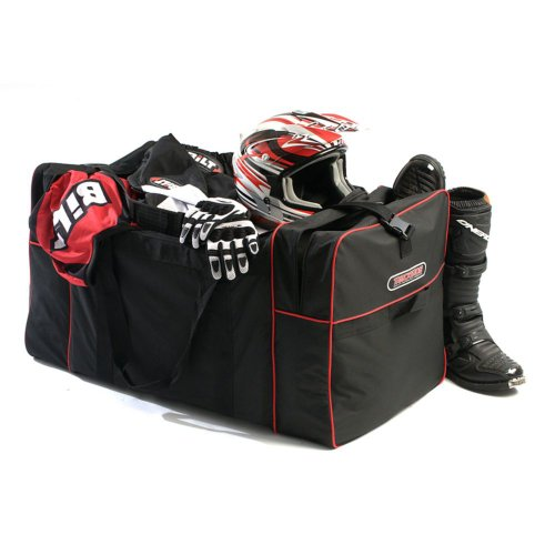 TRACKSIDE Max Capacity Gear Bag - Black/Red ()