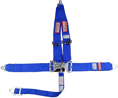 - Racerdirect Blue Safety Harness 5 Point Racing Harness SFI 16.1 Latch & Link 3