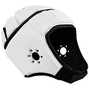 Well-Being-Matters 417SJ1itAxL._SS300_ EliteTek Soft Padded Headgear - 7v7 Soft Shell - Rugby - Flag Football Helmet - Soccer Goalie & Epilepsy Head Fall…