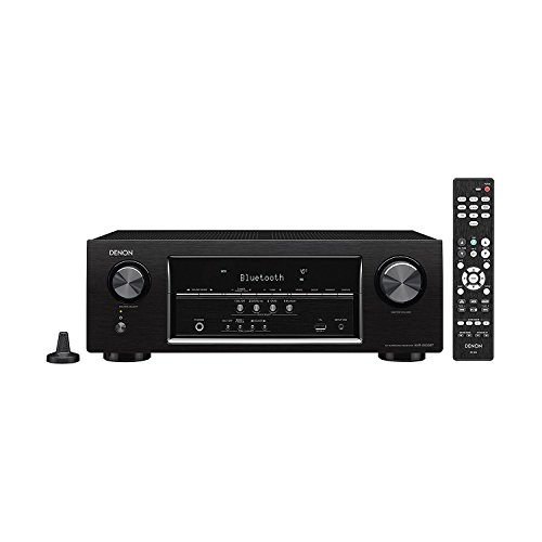 Denon AVRS510BT-R 5.2 Channel Full 4K Ultra HD AV Receiver w