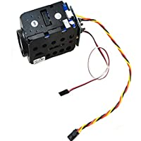 QWinOut FPV 1/4 700TVL HD 30X Zoom Adjustable Camera NTSC System for Multicopter 1.2G/5.8G Telemetry