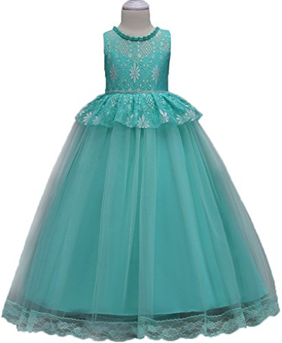 Shiny Toddler Big Girls Lace Birthday Party Ball