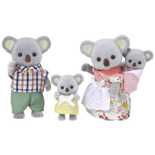 """Epoch Sylvanian Families Sylvanian Family Doll """"Fs-15 Family of Koala"""" (japan import)"""