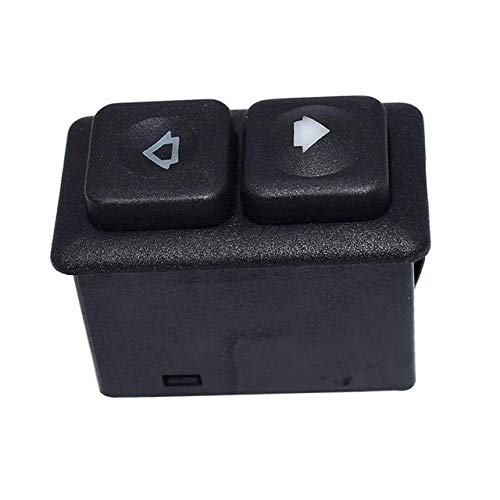 (Fincos Car Switches for BMW E24 E28 E30 Front Illuminated Electric Sunroof Switch Genuine 61311381205 - (Color: Black))