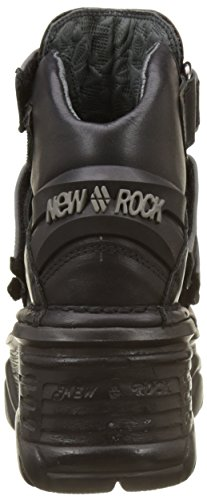 Adulte New Rangers Noir Bottes Rock s5 Mixte M 1078 black 0X8a0Urq