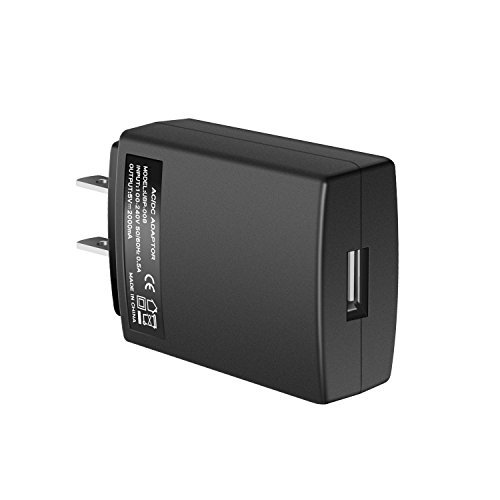 YUNSONG USB Wall Charger Fast Dual Port Travel Adapter Portable Rapid Phone Charger Block Power Charging Plug(ETL Listed) Compatible with Phone/Pad (Black)