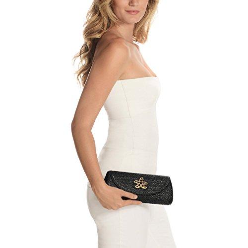 Eric Fashion Luxury Javits Handbag Paradis Designer Black Women's qSFaxwqPT