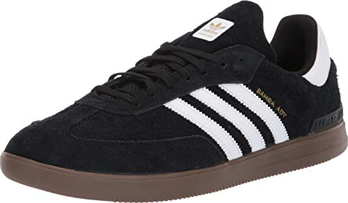 Adidas DB3189: Men's Samba ADV Core Black/White/Gum Sneakers (10.5 D(M) US Men) (Samba White Adidas)