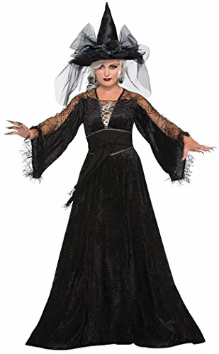 Forum Women's Spellcaster Wizard Costume, Multi, One (Flying Monkey Adult Costumes)