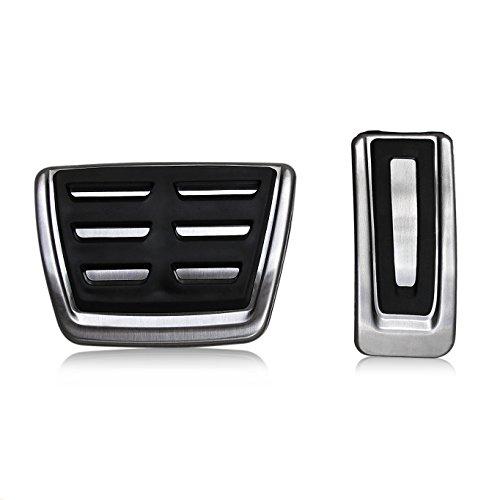 Pedals Slip Sports Anti (Gas Brake Pedal Cover For VW Golf MK7 GTI R SportWagen e-Golf Tiguan Audi A3 Automatic Volkswagen Accelerator Cap)