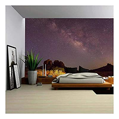 Classic Design, Charming Design, Milky Way Over Cathedral Rock