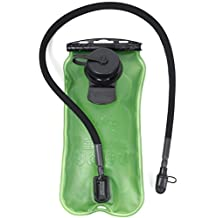 WATERFLY Water Bladder 3L BPA Free Military Hydration Bag for Climbing Hiking Running Cycling