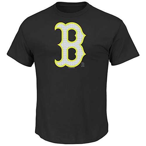 MLB Boston Red Sox Men's Game Maker Tee, Large, Black