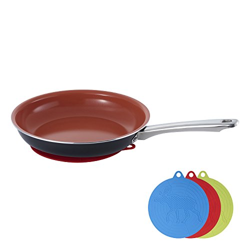 Hommate 3 pcs Silicone mat mitts non slip for Frying pans ,Hot pad , Spoon Rest ,Heat Resistant Hot Pads, Dishwasher Safe, jar openner