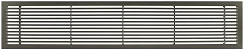 Grille Daeration,4 Pi/èces Alliage Daluminium Grille de Ventilation Grille de Ventilation Rectangulaire pour Armoire /à Chaussures Armoire /évier Cuisine Cuisini/ère Armoire Vitrine Argent (80X250mm)
