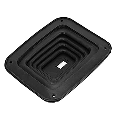 DEALPEAK Rubber Car Gear Shift Dust Cover Shifter Boot Gaiter Replacement for Auto GM350: Automotive