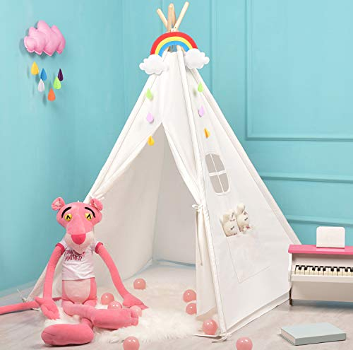 Sumerice Teepee Tent for Kids Toy with Carry Case