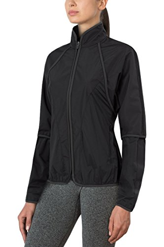 MPG Julianne Hough Women's Conquer 2.0 Rain Jacket XL Black