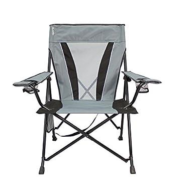 Kijaro Dual Lock Chair, Hallett Peak Gray, XX-Large