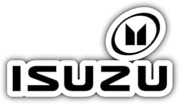 valstick Isuzu Logo Auto Car Bumper Sticker Decal
