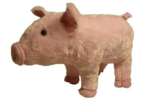 """ADORE 13"""" Standing Willie the Pig Piglet Plush Stuffed Animal Toy"""
