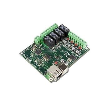 Amazon.com: Velleman vm204 Ethernet tarjeta de relé, 1 grado ...