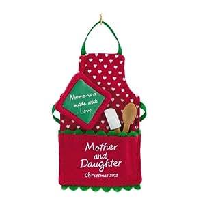 Hallmark 2012 Keepsake Ornaments QXG4754 Making Mother-Daughter Memories