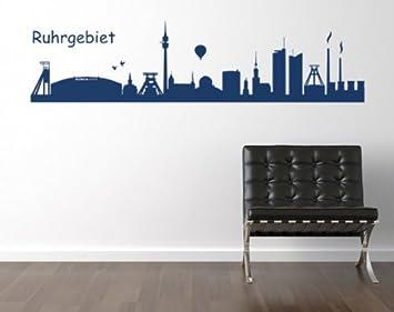 Schalke Küche | Wandspruch De Wandtattoo Skyline Ruhrgebiet Schalke Amazon De