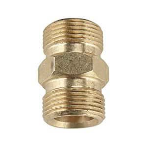 Please see replacement Item# 43378. NorthStar Hose to Hose Coupler - 22mm Fitting, 4000 PSI