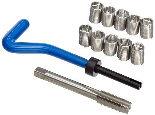 E-Z Lok EK50920 Metric Helical Threaded Insert Kit, 304 Stainless Steel, M10-1.25 Thread Size, 20 mm Installed Length (Pack of 10)