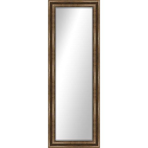 Home Montebello Full Length Mirror door/wall mirror Glass hanger Brown  sc 1 st  Amazon.com & Full Door Mirror: Amazon.com