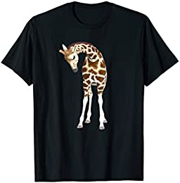 Baby Giraffe T-shirt - Cute short sleeve t-shirt