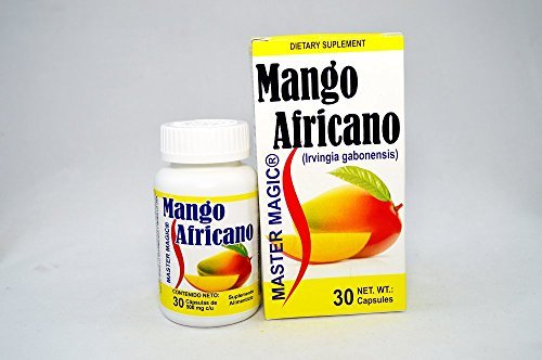 Master Magic Mango Africano the Newest to Lose Weight