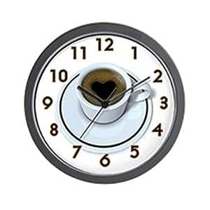 Cafepress Coffee Love Wall Clock Unique